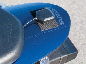 GPS antenna mounting